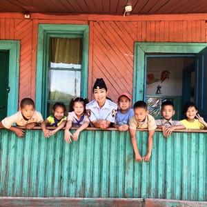 ОМОН Тувы – гости  в «День боевых учений» в детском лагере Юность