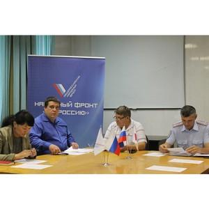 ОНФ в Туве призвал власти предпринять меры для повышения дорожной безопасности перед учебным годом