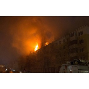 Нижневартовским погорельцам собрали более 300 тыс. рублей