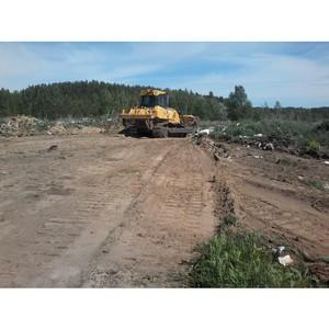 В Ельниковском районе Мордовии ликвидировали несанкционированную свалку