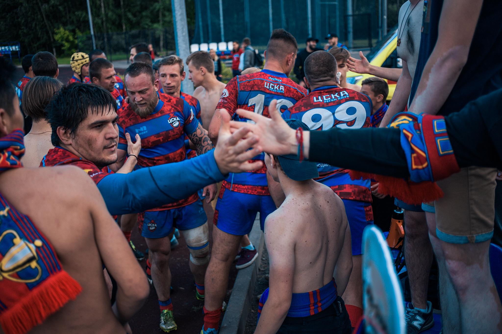 Регбийный клуб ЦСКА разгромил Торпедо в столичном дерби
