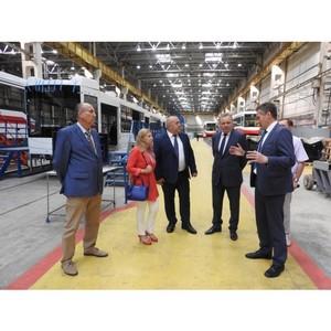 Заместитель министра инвестиций и развития Свердловской области посетила «Уралтрансмаш»