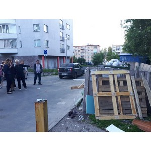 —ветлана алинина раскритиковала содержание контейнерных площадок в ѕетрозаводске и —уо¤рви