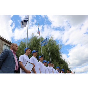 В Калугаэнерго в торжественной обстановке открыли шестой сезон студенческих отрядов