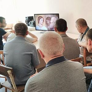 Пациенты Ставропольской психбольницы отметили День семьи, любви и верности