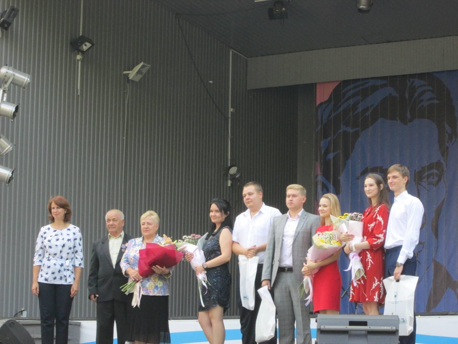 В  ЦПКиО отметили День города