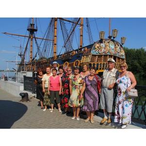 Бывшим работникам СГОКа показали достопримечательности Воронежа