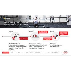 Henkel увеличивает прибыль с продаж с Basys AI TPM и технологиями Microsoft