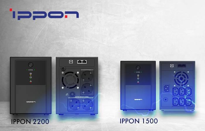 Ippon Back Basic 1500/2200 – новые доступные ИБП с IEC и Euro-розетками