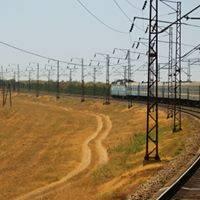 Озеленение вдоль железных дорог