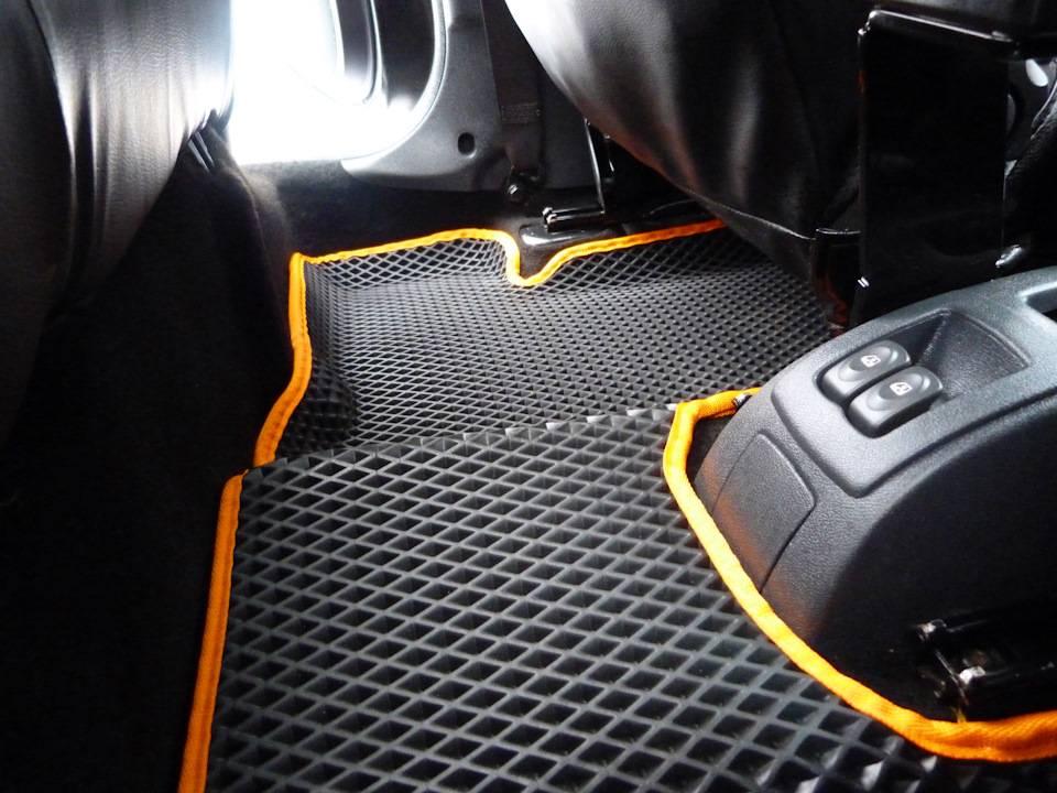 Коврики EVA 3D. Лучшая защита салона вашего авто!