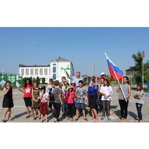 Активисты ОНФ в Кабардино-Балкарии провели патриотическую акцию в селе Нартан