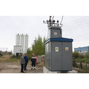 Ивэнерго обеспечил электроснабжение завода по производству бетона