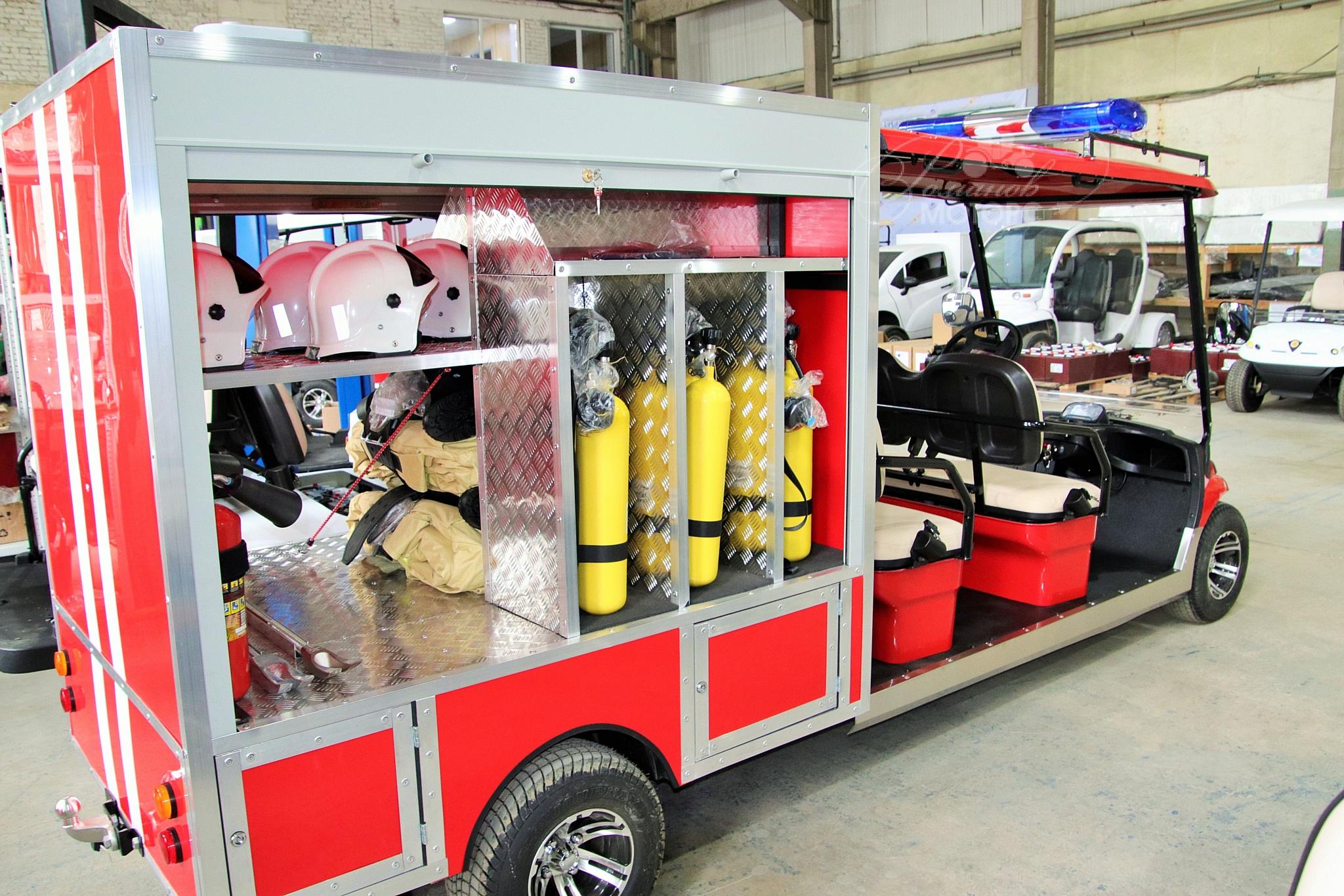 Гольфкар пожарный Конкордия ГК4 с кузовом