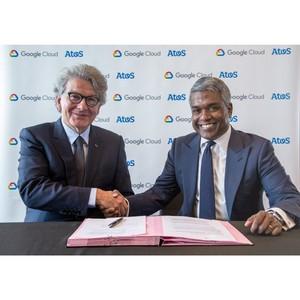 Atos расширяет стратегическое партнерство с Google Cloud