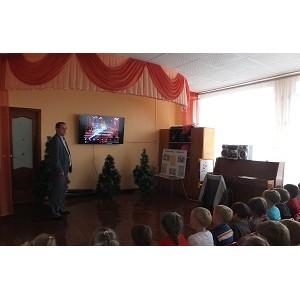 Специалисты Мариэнерго провели уроки электробезопасности для дошкольников