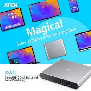 Представляем новый USB-C док-коммутатор Aten US3310