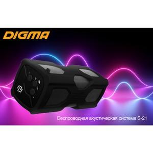 Беспроводная акустическая система Digma S-21: музыка всегда с собой