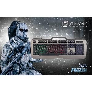 Клавиатура Oklick 747G Frozen: холодный расчёт
