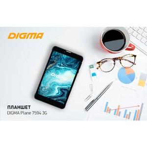 Планшет Digma Plane 7594 3G: быстрый и компактный