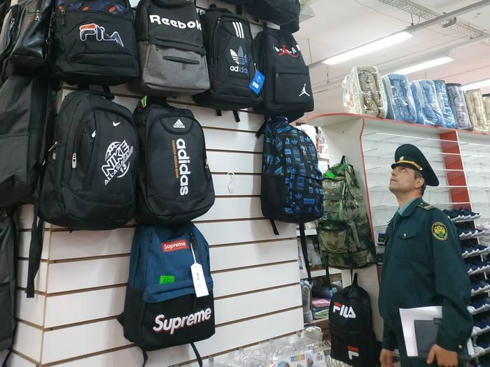 Смоленские таможенники провели рейд по выявлению контрафактной продукции