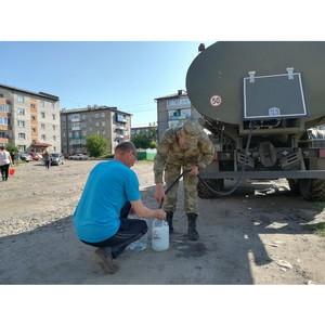 Росгвардия продолжает оказывать помощь в ликвидации последствий наводнения в Иркутской области