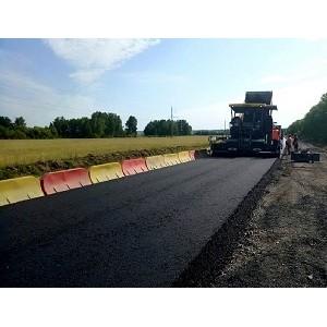 «УралАвтодор» ведет ремонт участка федеральной трассы в Курганской области
