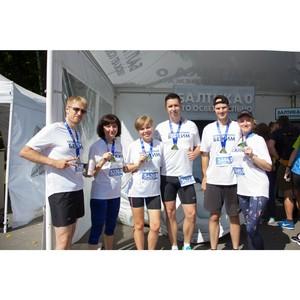 «Балтика 0» освежила участников Тульского марафона «Щит и меч»