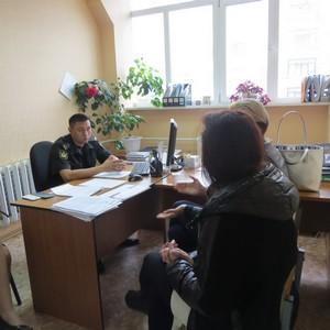 Заместитель руководителя УФССП России по Сахалинской области провёл приём граждан в г. Охе