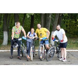 Стойленцы поучаствовали в велогонке кросс-кантри