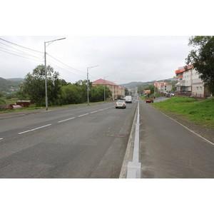На Камчатке отремонтировали 15 дорог включенных в карту убитых дорог ОНФ