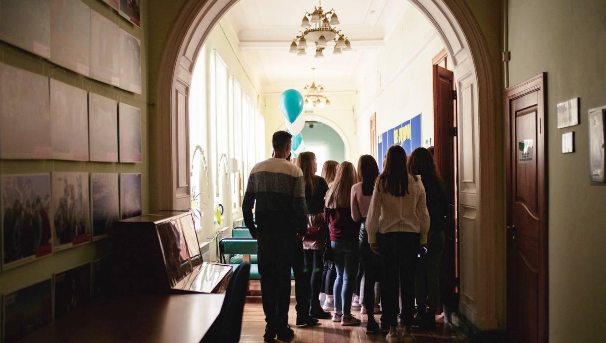 День первый в стиле Гарри Поттера: в вузе поздравляют первокурсников
