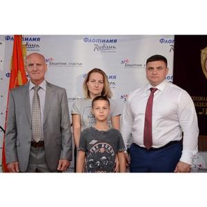 Семья погибшего сотрудника Росгвардии из Казани побывала на празднике в Москве