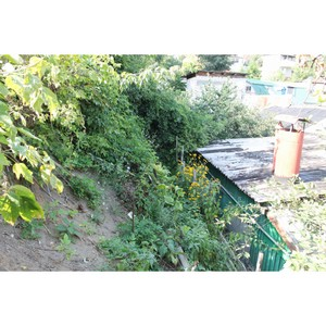 —ползание грунта на дом в —таромосковском переулке ¬оронежа