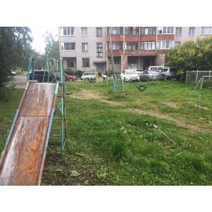 После обращения Молодежки ОНФ власти Петрозаводска отремонтируют детские площадки