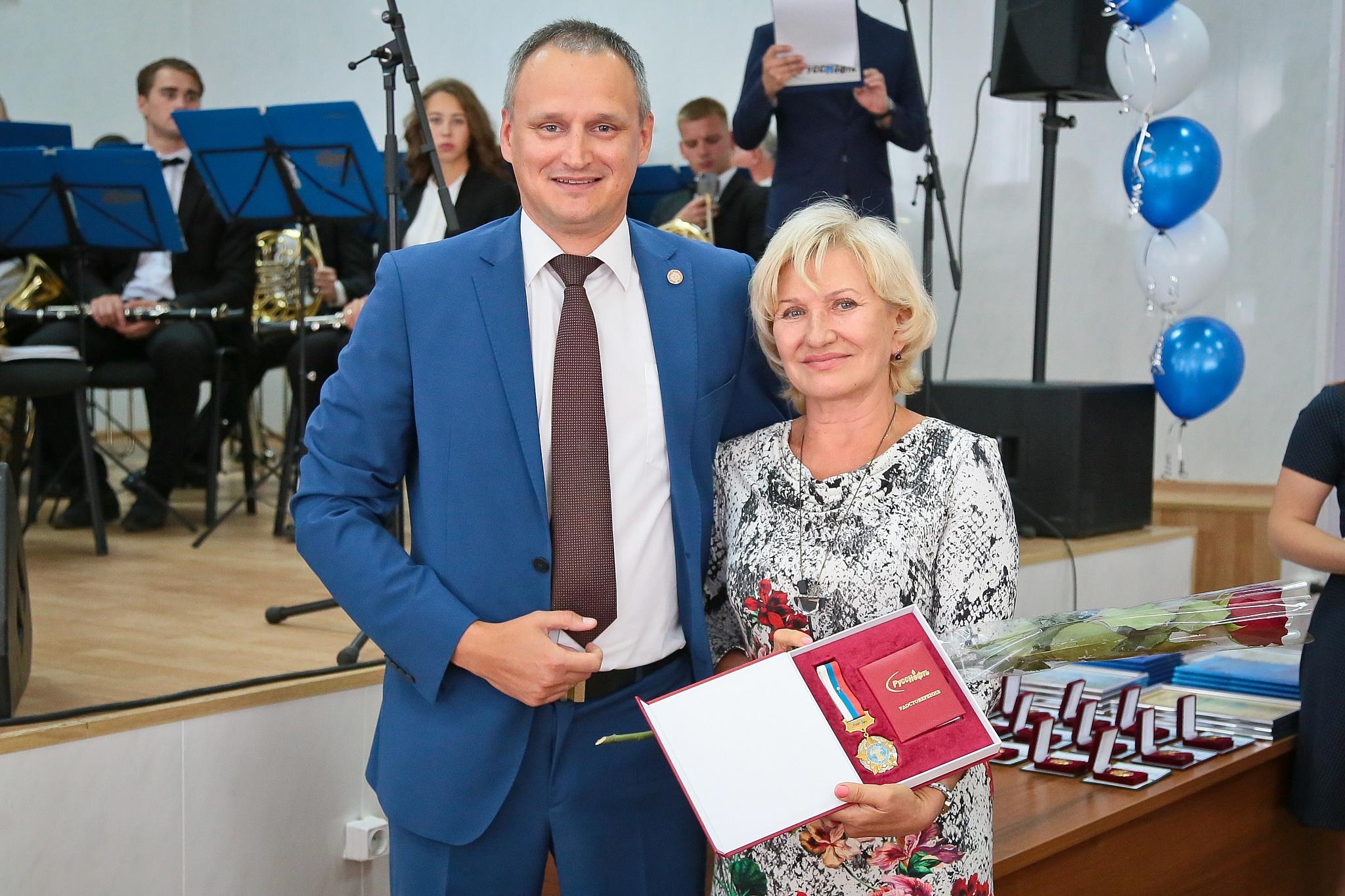 Сотрудник ПАО«Саратовнефтегаз» впервые удостоен высшей награды ПАО НК«РуссНефть»