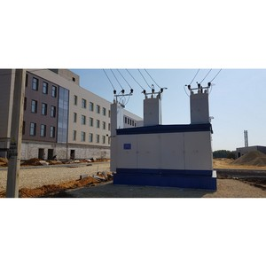 Ќижновэнерго обеспечил электроснабжение административного здани¤ в ƒивеево