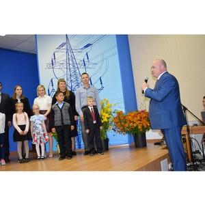 В Костромаэнерго поздравили энергопервоклассников