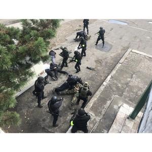 Росгвардия Тувы приняла участие в тактико-специальном учении