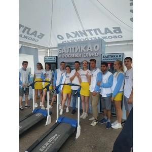 Участники «Пермского марафона» выбирают «Балтику 0» на финише