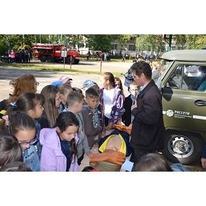 Специалисты Мариэнерго приняли участие во Всероссийском открытом уроке по ОБЖ