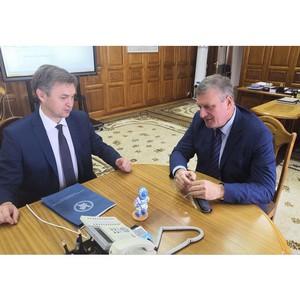 Игорь Васильев обсудил вопросы взаимодействия с региональными профсоюзами
