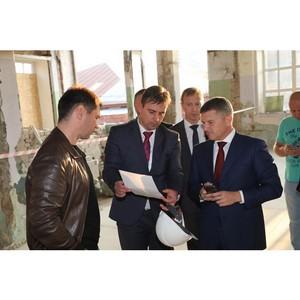 Игорь Маковский посетил Ивановскую область