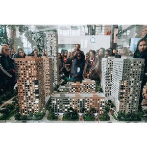 Группа ПСН и Gillespies провели экскурсию для студентов архитектурных вузов