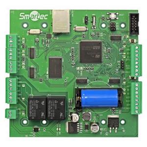 Новейший контроллер СКУД производства Smartec с возможностью организации СУРВ