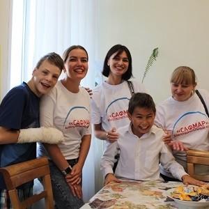 БФ «Сафмар» провел для детей-сирот благотворительные акции
