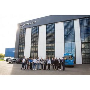 Участники фестиваля «От винта!» посетили учебный центр Boeing