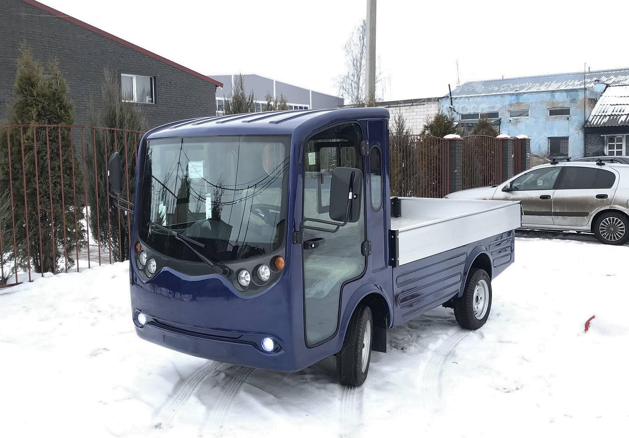Грузовой электромобиль Конкордия ГР1000 борт