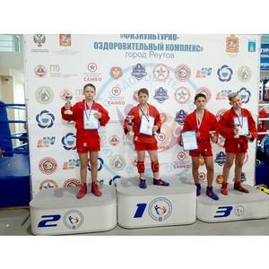 Суворовец МсСВУ завоевал второе место на турнире по самбо