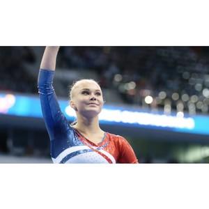 Гимнастка Ангелина Мельникова в новом сериале от Olympic Channel